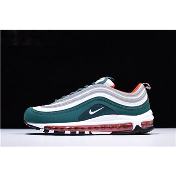 Nike Air Max 97 Rainforest/White-Team Orange Men's Basketball Shoes 921522-300