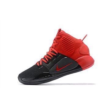 fa6bd1a0938e 2018 Nike Hyperdunk X Black University Red For Sale Free Shipping