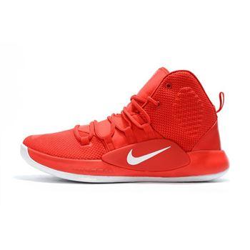 4c50fdfac24a 2018 Nike Hyperdunk X University Red White Men s Basketball Shoes