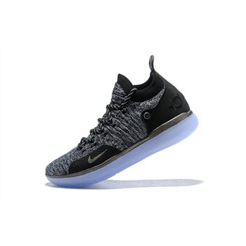 Nike KD 11 EP Oreo Black Grey Kevin Durant's Signature Basketball Shoes AO2605-004