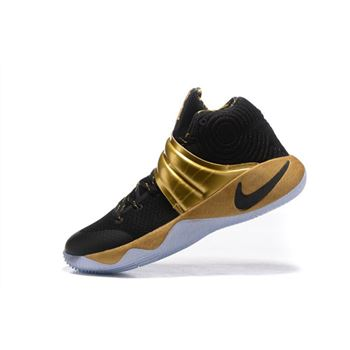purchase cheap 47b05 c09a5 Nike Kyrie 2 Black Gold Finals PE For Sale