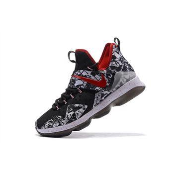online store 829bf aff09 Nike LeBron 14 Graffiti Black White-University Red For Sale