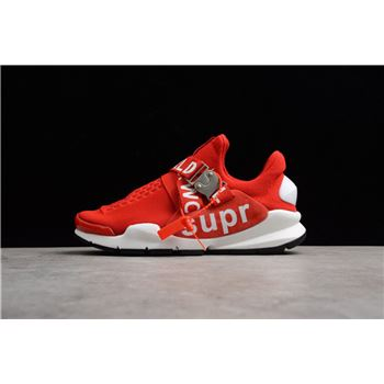 New Nike Sock Dart x Supreme White Red Men's and Women's Size Shoes