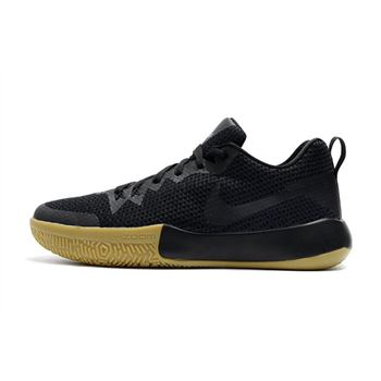 Nike Zoom Live II Black Gum Men's Basketball Shoes For Sale