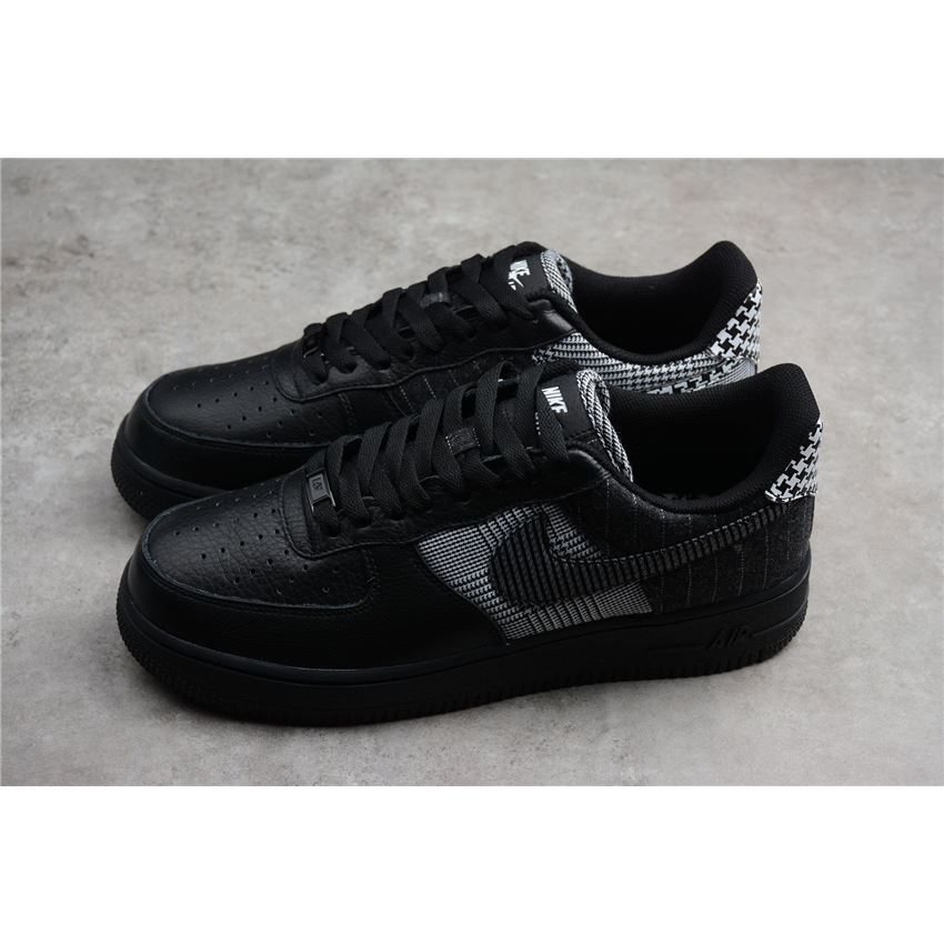 White At0062 Blackblack Nike Air Patchwork Low 001Mens Force 1 35ALR4j