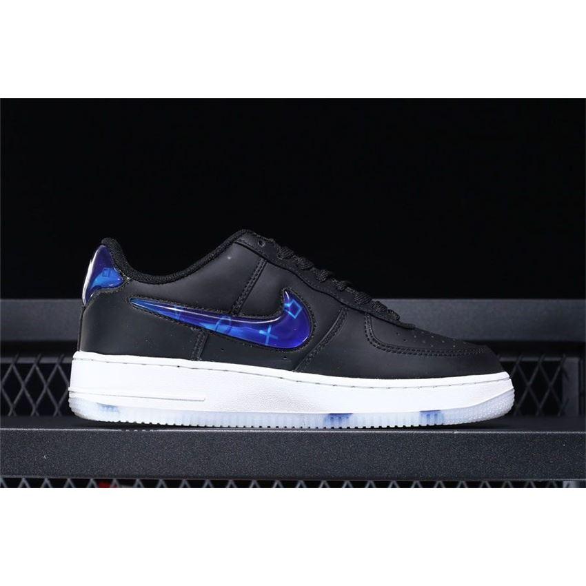13722e854ec4 Nike Air Force 1 Low PlayStation Black Varsity Royal-White BQ3634 ...