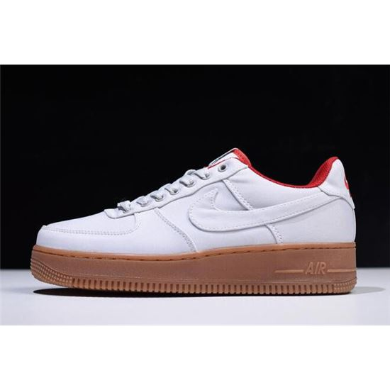 a333fd3ce2ee9 Nike Air Force 1 Low Canvas Gym Red AJ7282-00513